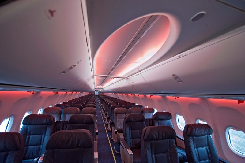 Continental Airlines Estrena Sky Interior Canal Plus News